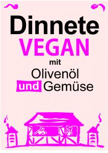 dinnete vegan auch die veganer kommen auf ihre kosten, dinnele mit oliven und gemüse